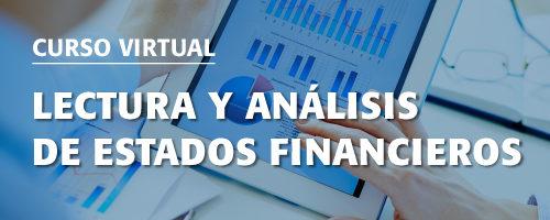 (2485) Curso de Especialización: Lectura y Análisis de Estados Financieros