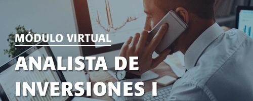 (2473) Módulo de Especialización: Analista de Inversiones I